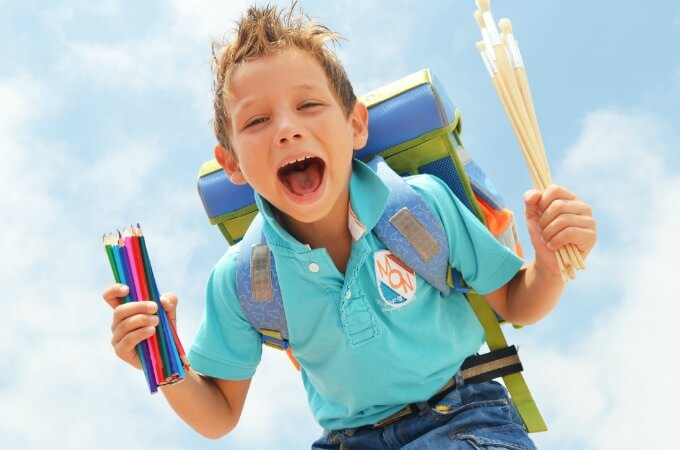 4 Tips to Get Kids Back to School Like The Rockstar You Are!